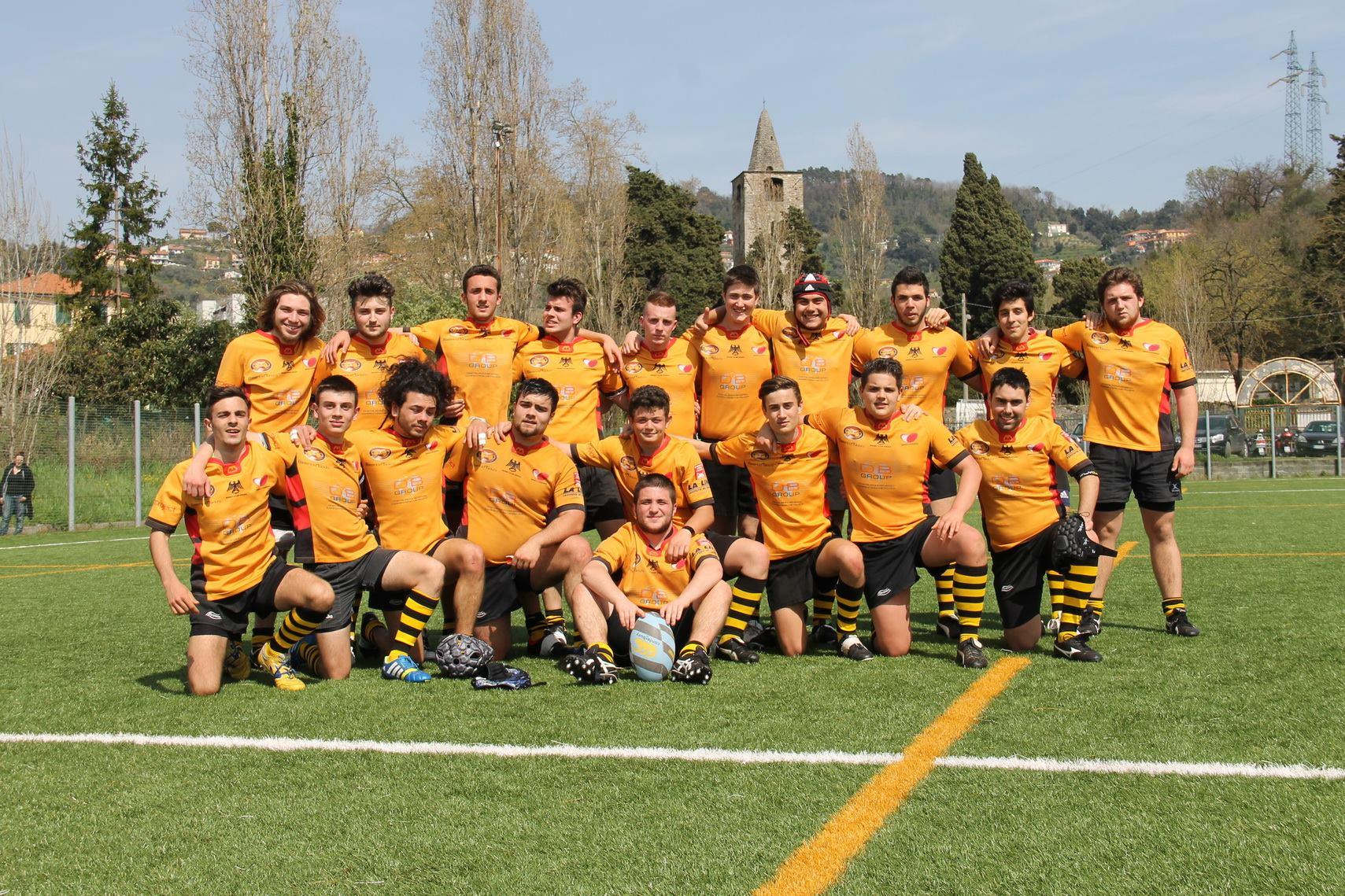 under 18 Rugby Spezia foto gruppo