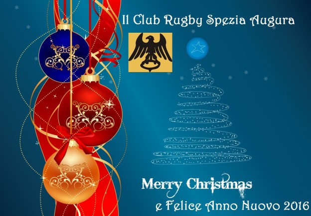 Rugby Spezia Buone feste 2015 2016 2