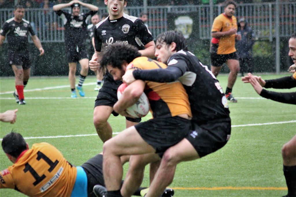 Foto repertorio Christelle Morin incontro di andata Rugby Spezia Tortona