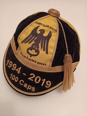 Honour cap delle 100 presenze in prima squadra e celebrativo del 25° dalla fondazione del club (1994 -2019)